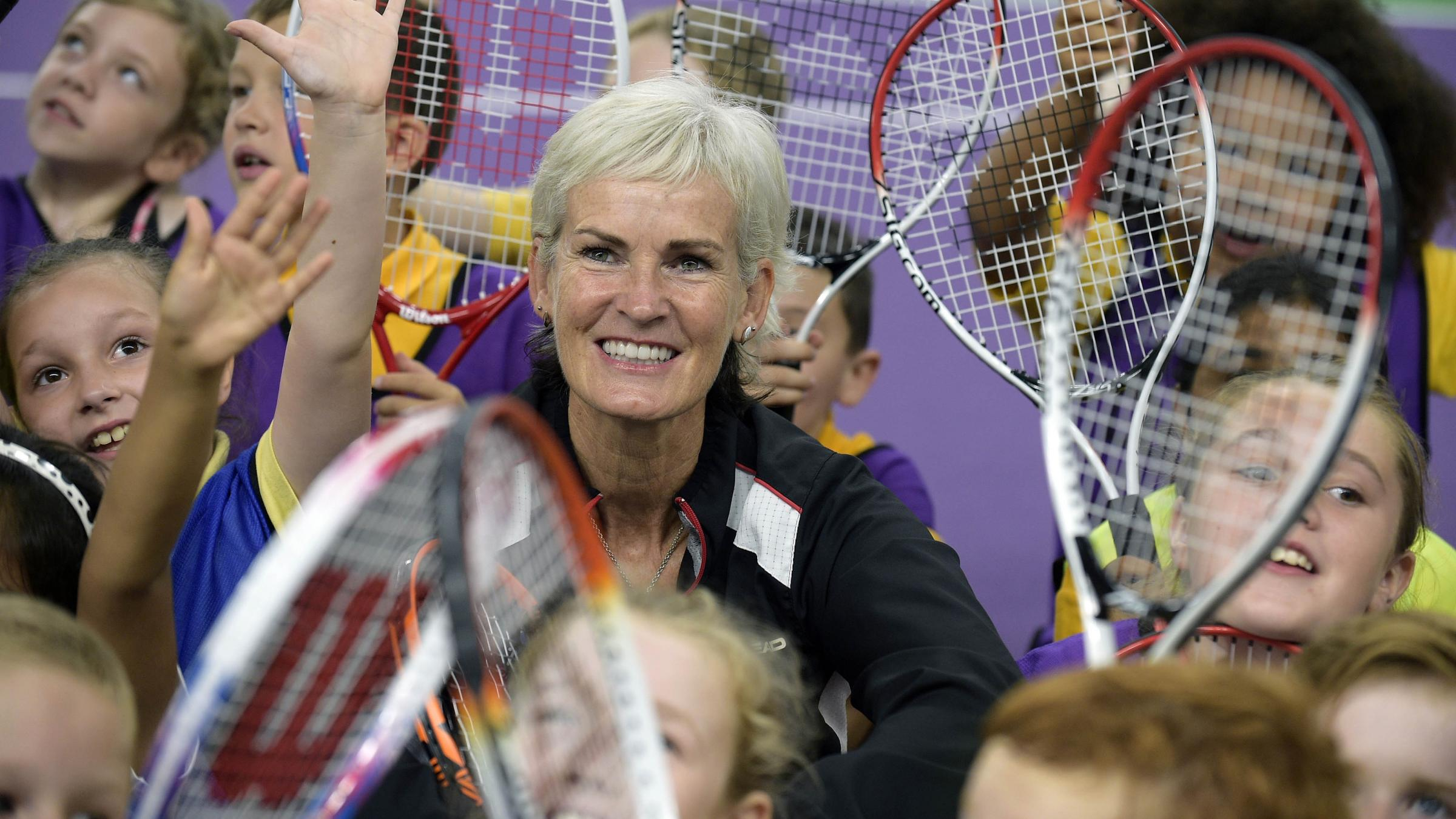 Judy Murray gets a tattoo to honour sons